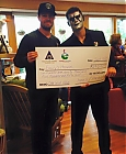 Stephen Amell and Stardust present $297,557 check to Emily's House