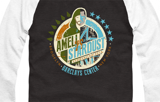 Stephen Amell Launches Amell vs. Stardust T-Shirt Campaign To Benefit Emily's House