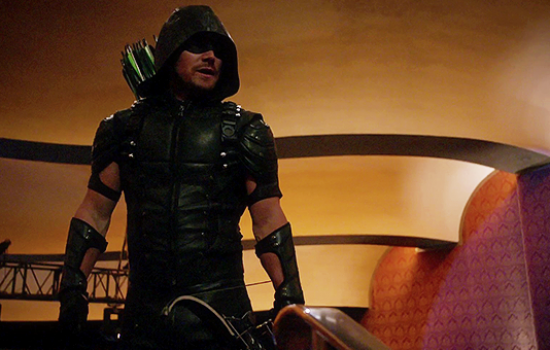 Screencaps: Arrow 4×14 'Code of Silence'