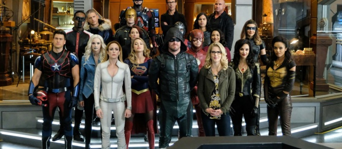 "The Arrowverse Punches Nazis in ""Crisis on Earth-X"" Crossover Trailer"