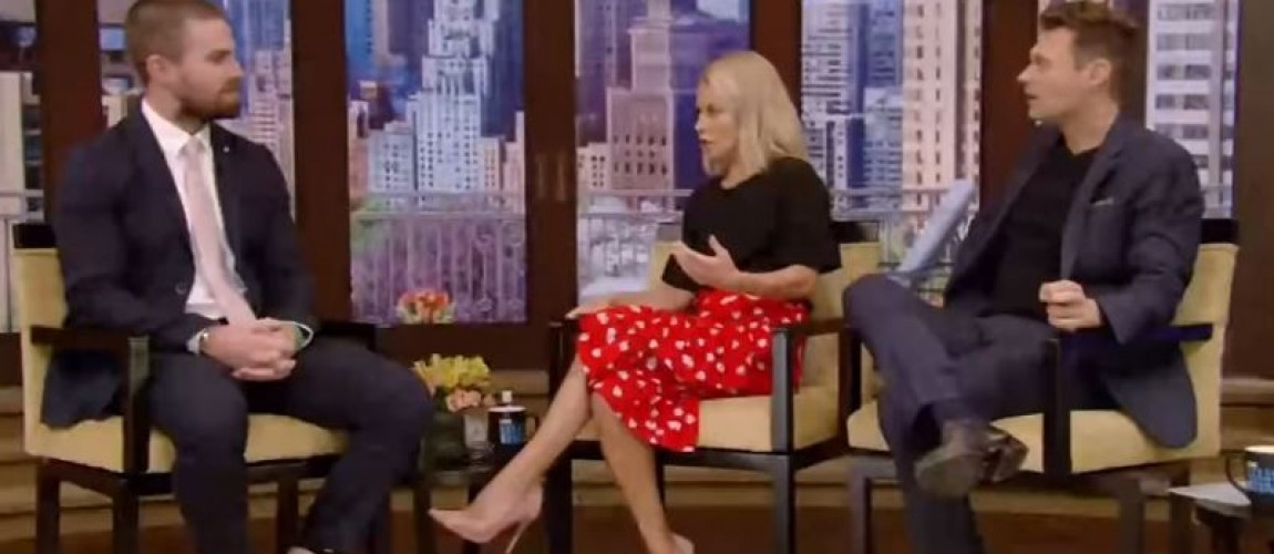 (Video) Stephen Amell at Live with Kelly and Ryan