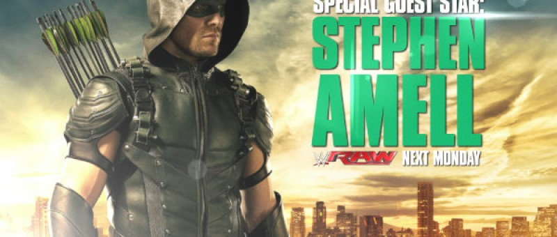 Stephen Amell Headed to WWE