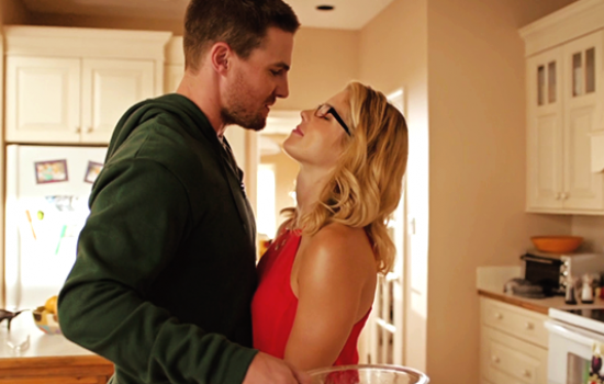 'Arrow' Stars Stephen Amell & Emily Bett Rickards Spill Olicity Engagement Details!