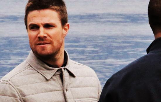 Photos: Arrow On Set – October 21st 2015