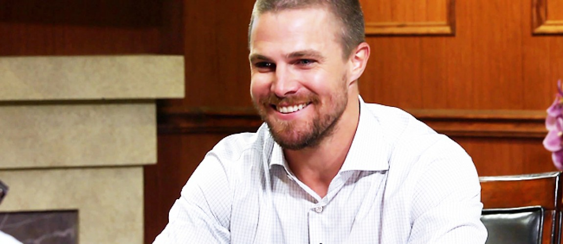 Video: Stephen Amell on 'Larry King Now'