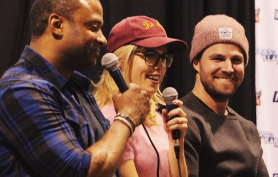 (07 April 2018) Stephen Amell At Nocking Point Presents One Night Chicago