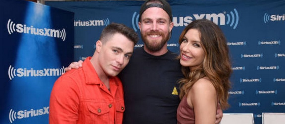 (22 July 2018) Stephen Amell At SiriusXM's Entertainment Weekly Radio Broadcasts Live