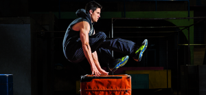 Robbie Amell Soars With These Flashy Techniques